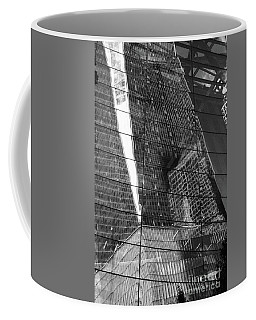 Puzzle City Mirror Coffee Mug