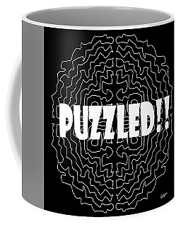 Puzzled Coffee Mug