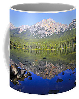 Pyramid Lake Reflection Coffee Mug by Teresa Zieba