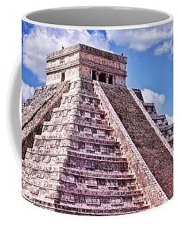 Pyramid Of Kukulcan At Chichen Itza Coffee Mug