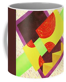 Pyramids And Pepperoni Coffee Mug
