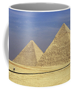Pyramids At Giza Coffee Mug