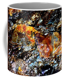Pyrite Treasure Coffee Mug by Janine Riley