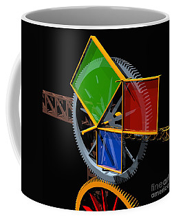 Pythagorean Theorem Digital Art Coffee Mugs