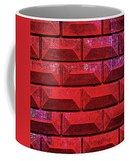 Coffee Mug featuring the mixed media Qq2 Behind Your Wall by Sir Josef - Social Critic - ART