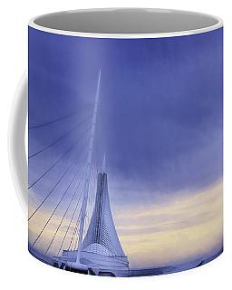 Quadracci Pavilion Sunrise Coffee Mug