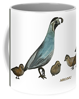 Quail Family Coffee Mug