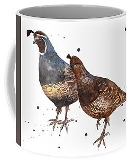 Quail Painting Coffee Mug