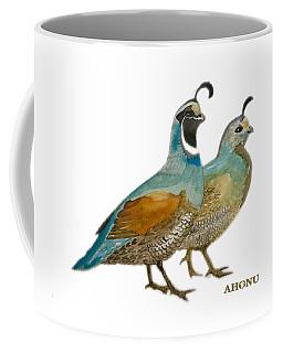Quail Pair Coffee Mug