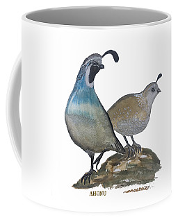 Quail Parents Wondering Coffee Mug