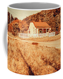 Quaint Country Cottage Coffee Mug