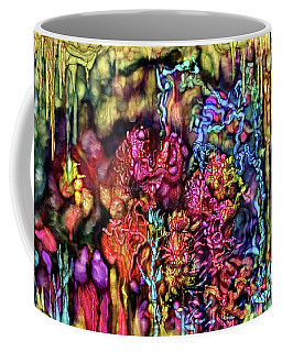 Coffee Mug featuring the digital art Qualia's Cave by Russell Kightley