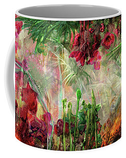 Coffee Mug featuring the digital art Qualia's Jungle by Russell Kightley