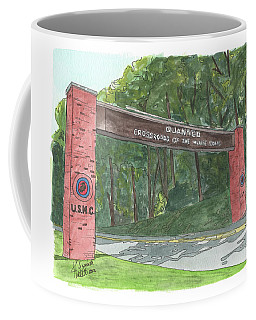 Quantico Welcome Coffee Mug