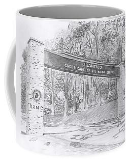 Quantico Welcome Graphite Coffee Mug