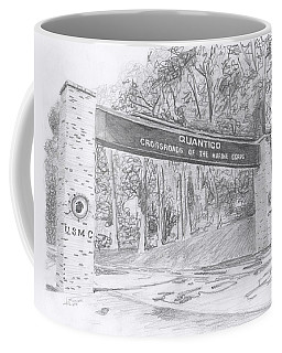 Quantico Welcome Graphite Coffee Mug