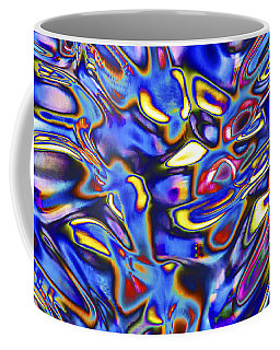 Quantum Entangled Soul... Coffee Mug by Nina Stavlund