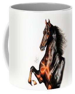 Quantum Of Solace Saddlebred Stallion Coffee Mug
