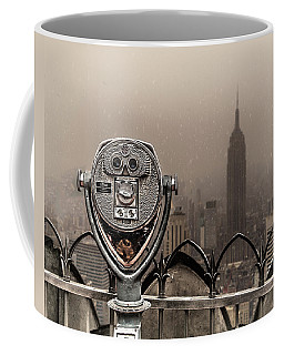 Coffee Mug featuring the photograph Quarters Only by Chris Lord