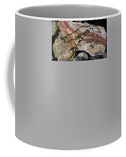 Quartz Agate Set In Gourd Wood #d140 Coffee Mug