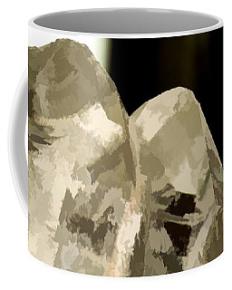 Quartz Crystal Cluster Coffee Mug