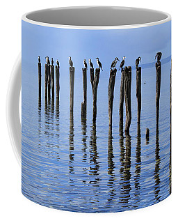 Coffee Mug featuring the photograph Quay Rest by Stephen Mitchell