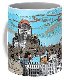Quebec City Canada Poster Coffee Mug