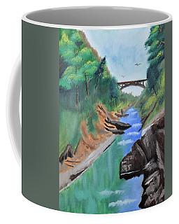 Quechee Gorge,vermont Coffee Mug