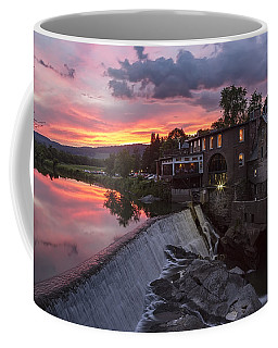 Quechee Vermont Sunset Coffee Mug