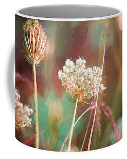 Queen Anne Impasto Coffee Mug by Bonnie Bruno