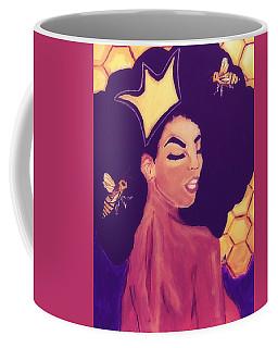 Queen Bee  Coffee Mug by Miriam Moran