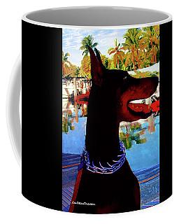 Queen Doberman Mia Poster Coffee Mug