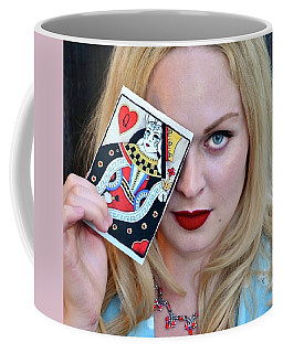 Queen Of Hearts Coffee Mug