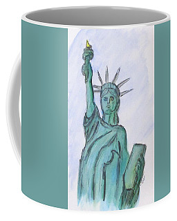 Queen Of Liberty Coffee Mug