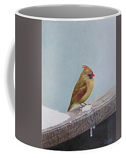 Queen Of State Coffee Mug by Pamela Clements