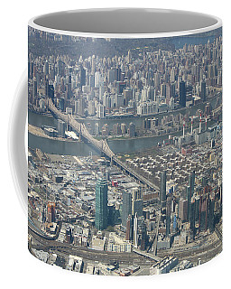 Queens And Manhattan Coffee Mug by Suhas Tavkar