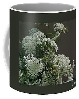 Queen's Bouquet Coffee Mug by Patricia Overmoyer