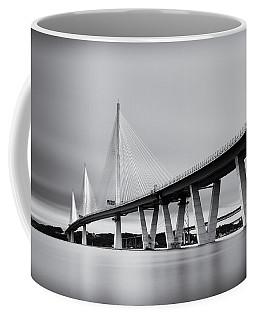 Queensferry Crossing Bridge Mono Coffee Mug