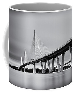 Queensferry Crossing Bridge Mono Coffee Mug