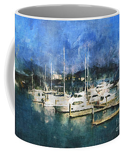Coffee Mug featuring the photograph Queensland Marina by Claire Bull