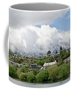 Queenstown New Zealand. Remarkable Ranges And Lake Wakatipu. Coffee Mug by Yurix Sardinelly