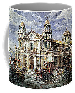 Quiapo Church 1900s Coffee Mug