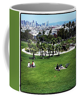 Coffee Mug featuring the photograph Quiet At #doloresgaybeach by Mr Photojimsf