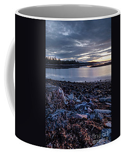Quiet Dawn, Southwest Harbor, Maine #40131-40132 Coffee Mug
