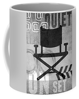Quiet On Set- Art By Linda Woods Coffee Mug