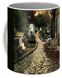 Pere Lachais Cemetery Road Coffee Mug