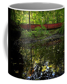 Coffee Mug featuring the photograph Quiet Reflections by Viviana  Nadowski