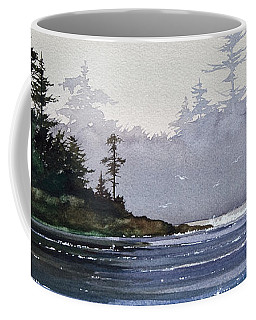 Quiet Shore Coffee Mug by James Williamson