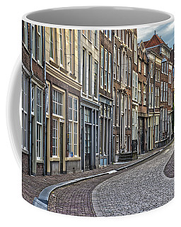 Quiet Street In Dordrecht Coffee Mug