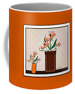 Coffee Mug featuring the digital art Quiet Time #4 by Iris Gelbart
